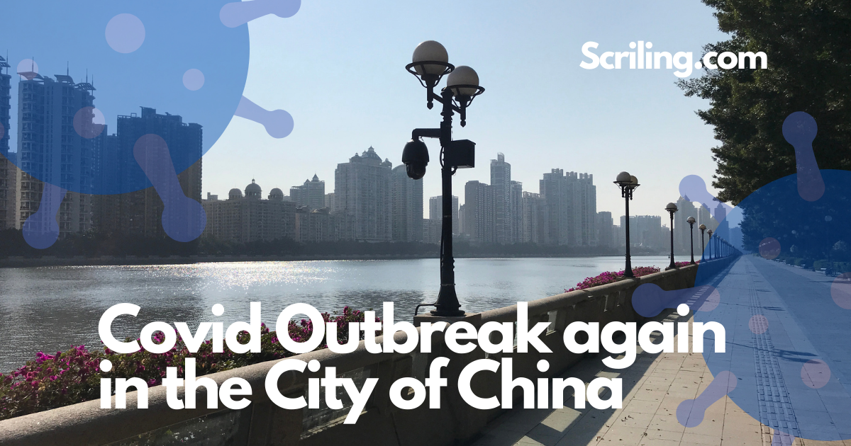 A virus outbreak has erupted in a Chinese city once again