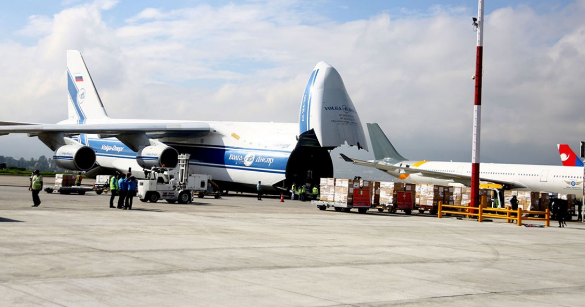 European Union handed over health supplies to Nepal