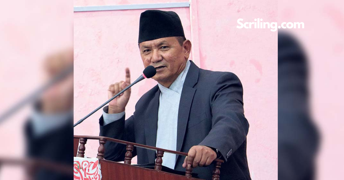 Prithvi Subba Gurung also claims to be the Chief Minister of Gandaki