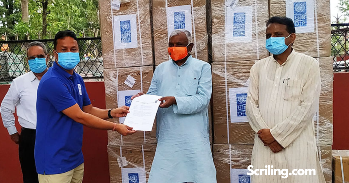 UNDP Assists Oxygen Concentrator  to State 2 Government
