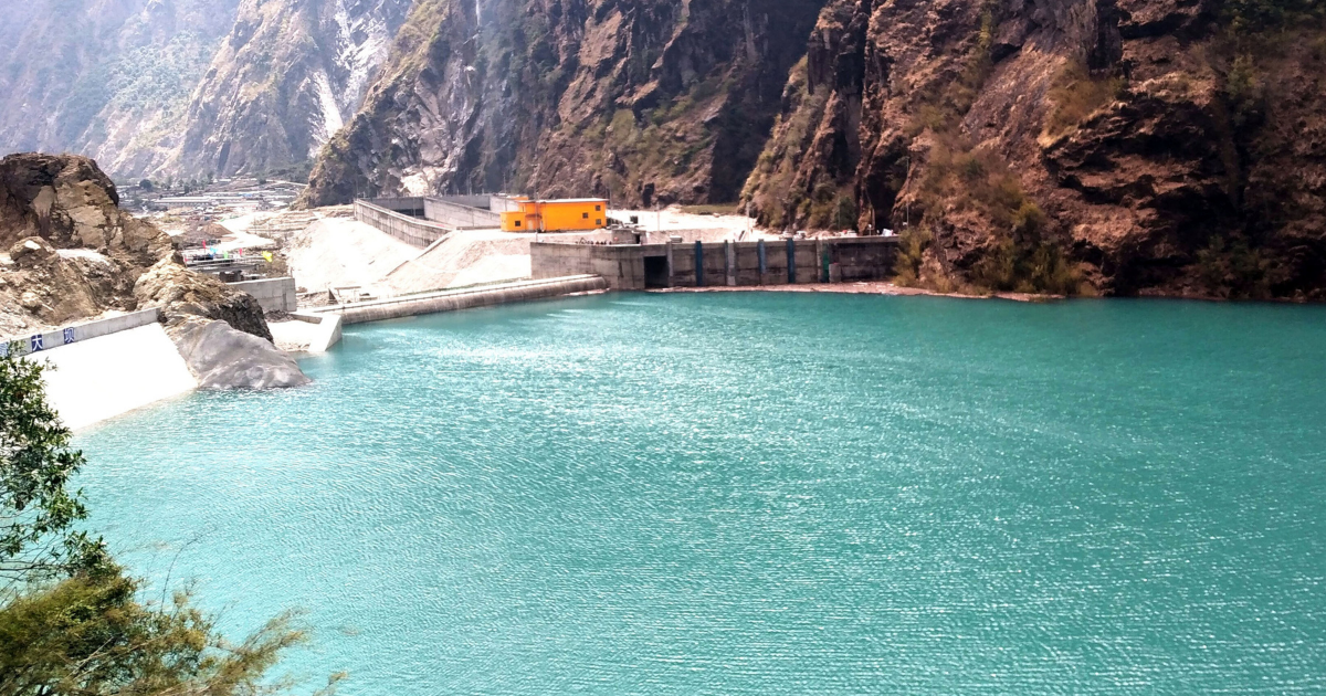 Test production of electricity from Upper Tamakoshi next week