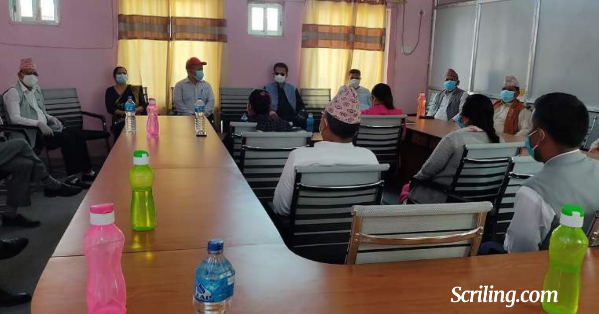 Parliamentary party's decision to suspend seven Oli MPs in the Far West