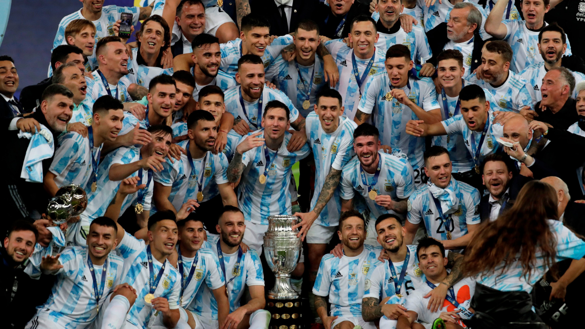 Argentina breaks 28-year title drought