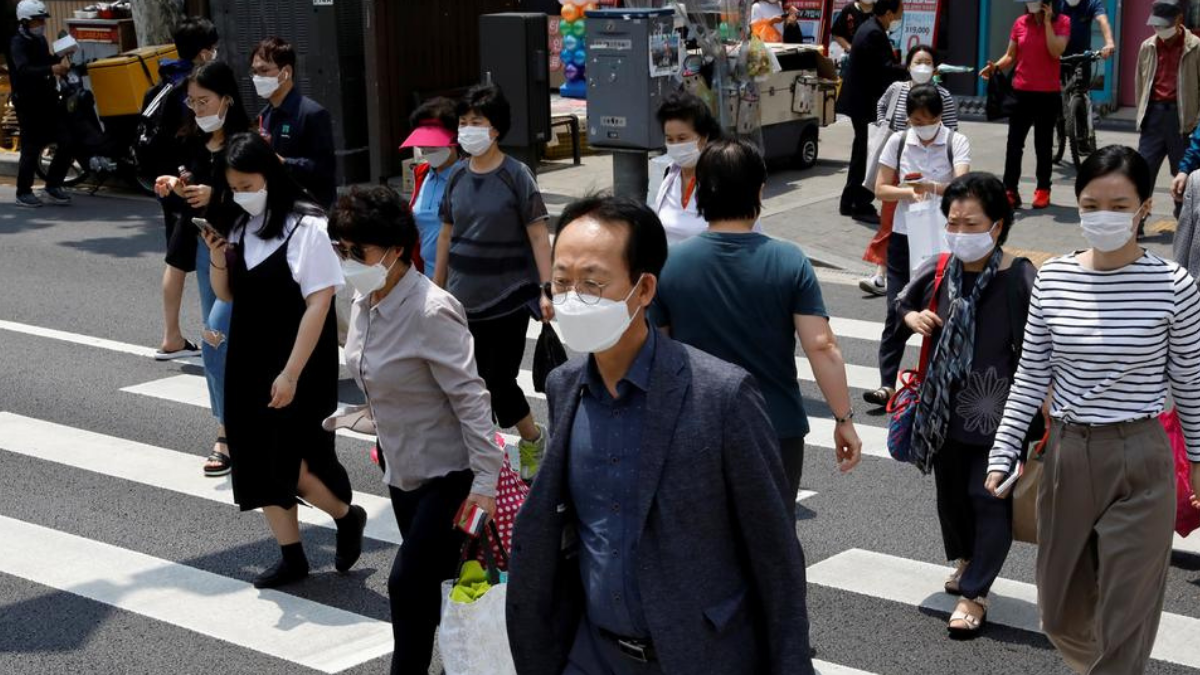The fourth wave of Covid-19 hits South Korea, as infections began to grow