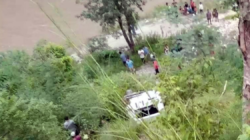 Jeep accident in musikot