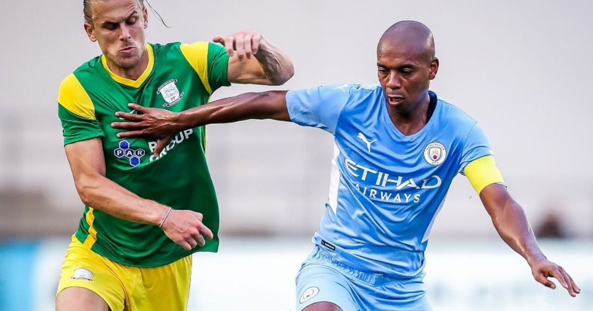 Manchester City wins in a friendly match