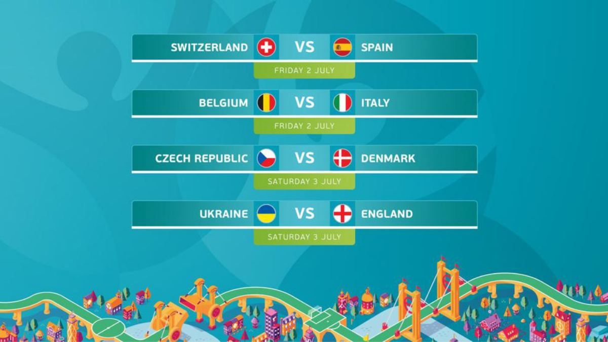 Euro Cup 2020: Quarter-final game starting today