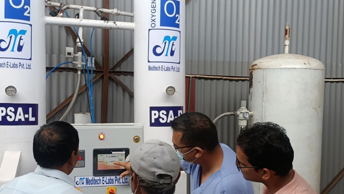 Baitadi Oxygen and Concentrator Bank