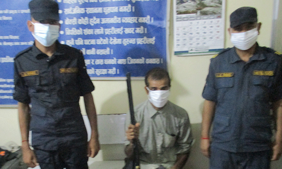 Police arrests one with a loaded gun in Kailali