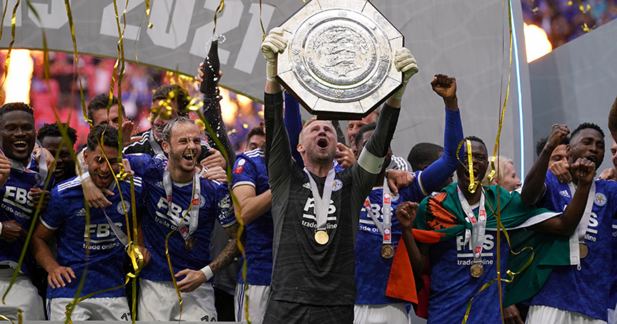 Leicester City beat Manchester City to win the Community Shield