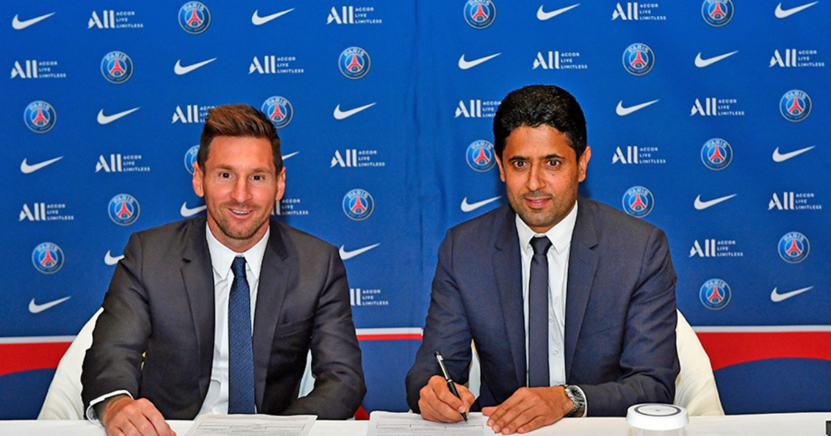 Lionel Messi signs with PSG for 2 years