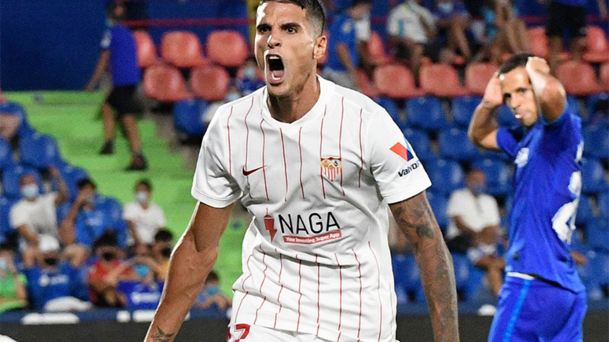 Sevilla wins in Injury time goal
