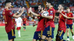Spain victory in world cup qualifiers