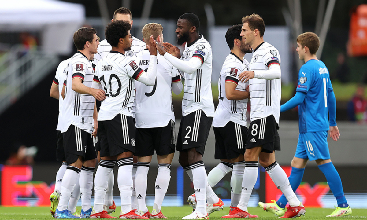 World Cup qualifier Germany's victory